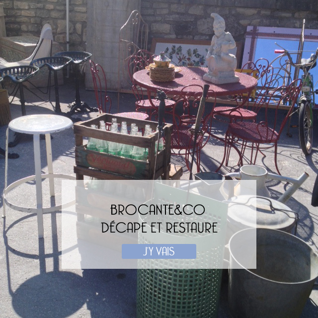 Brocanteandco décape et restaure