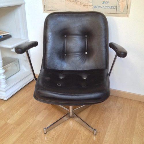 fauteuil de coiffeur vintage