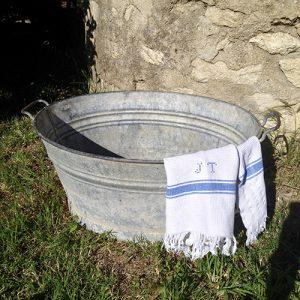 bassine zinc