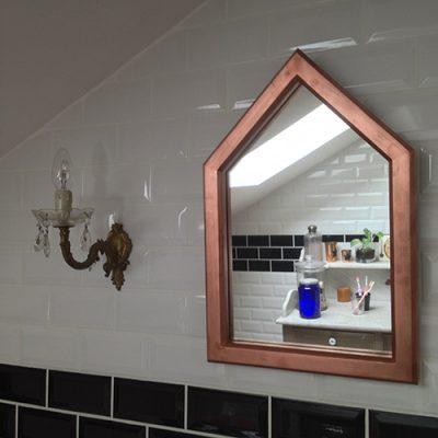 miroir maison - creation brocante and co