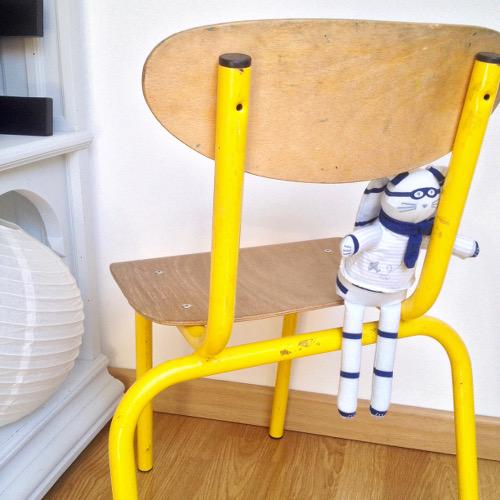 Ancienne chaise enfant