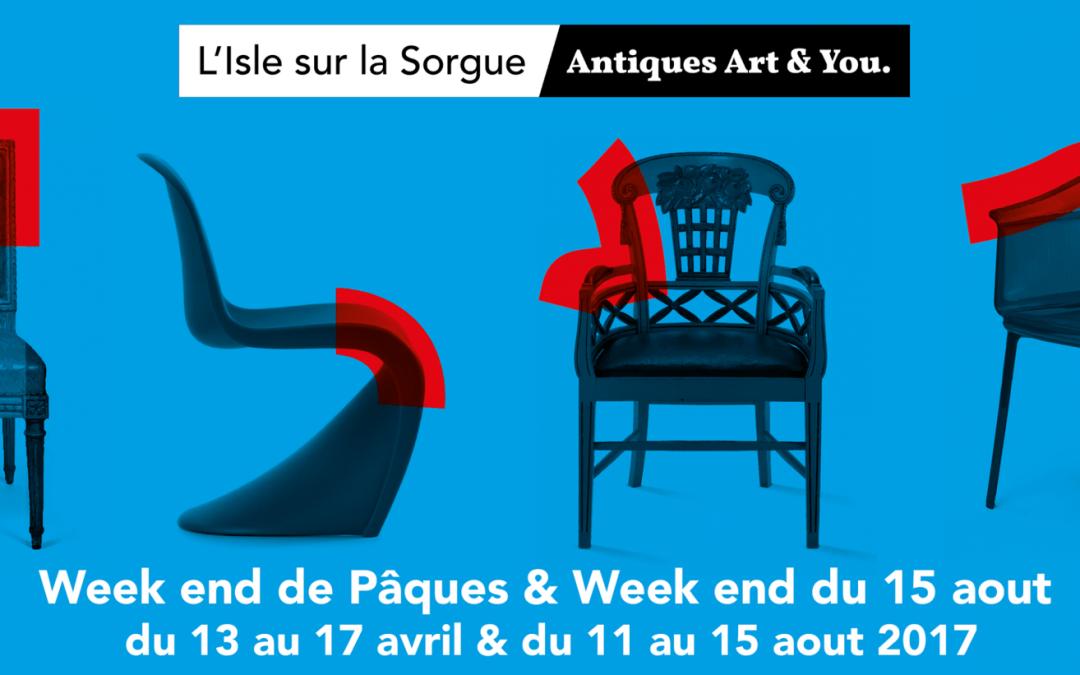 Isle sur la Sorgue, 102ème foire internationale art et antiquités