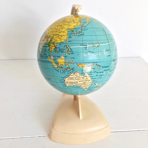 globe terrestre ms brocanteandco boutique en ligne de brocante. Black Bedroom Furniture Sets. Home Design Ideas