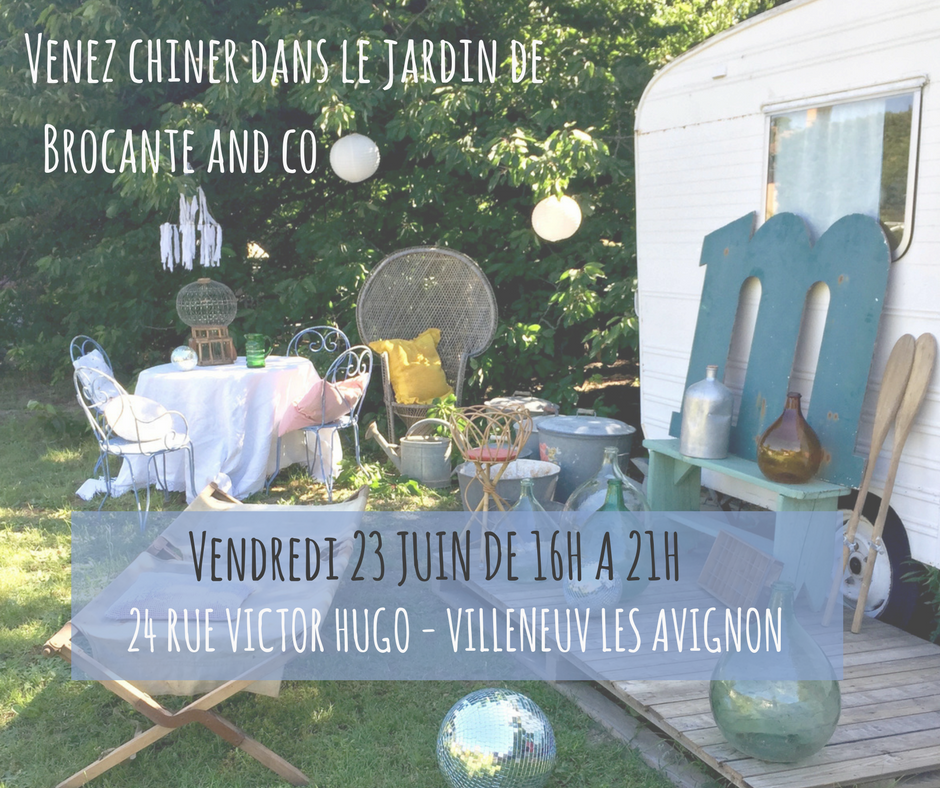 vente ephemere brocante and co