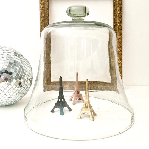 Cloche en cristal