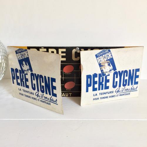 Publicité Père Cygne