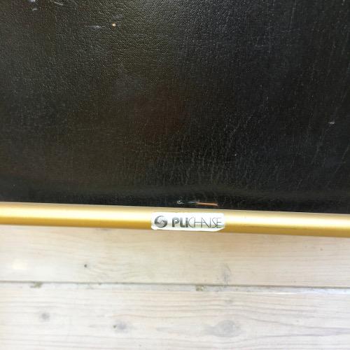 Plichaise laiton velours