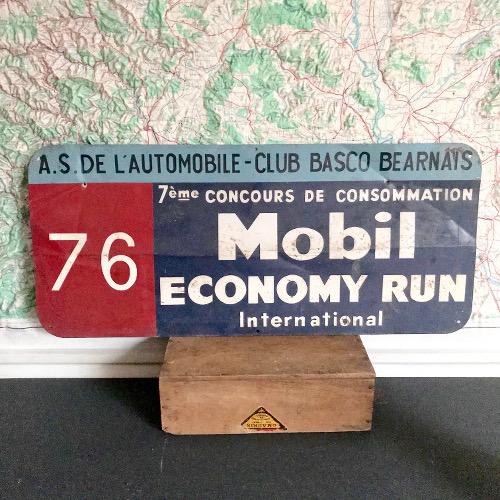 Plaque Métal Mobil