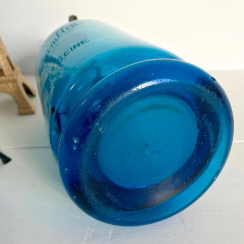 Siphon de bistrot bleu
