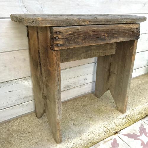 banc en bois brut brocanteandco boutique en ligne de. Black Bedroom Furniture Sets. Home Design Ideas