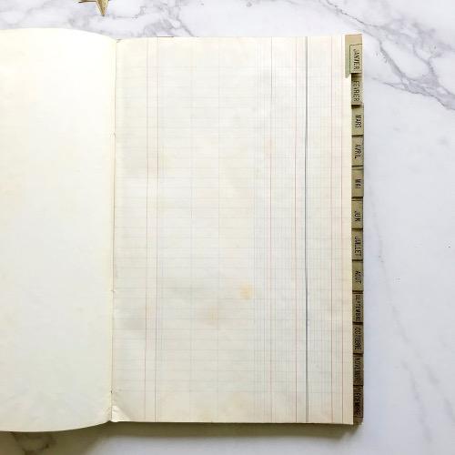cahiers cartonnés