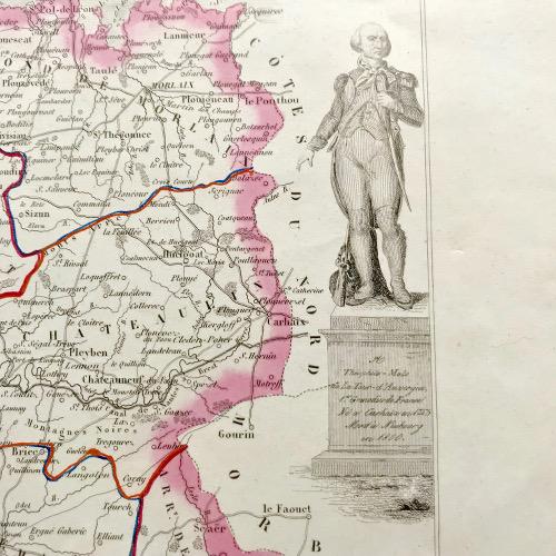 Gravure du Finistère