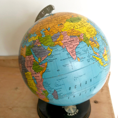 Globe terrestre Chocolat Lanvin Taride