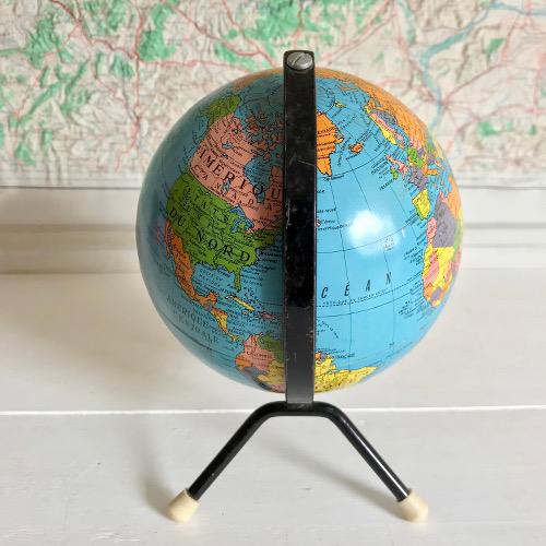 globe terrestre taride brocanteandco boutique en ligne de brocante. Black Bedroom Furniture Sets. Home Design Ideas