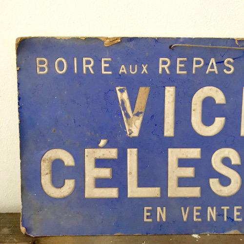 Publicité Vichy Célestins