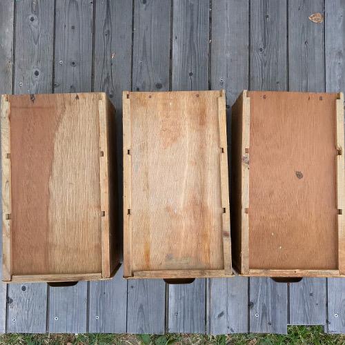 Tiroir en bois