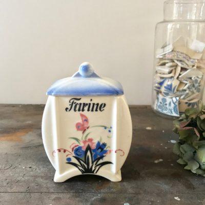 Pot de farine