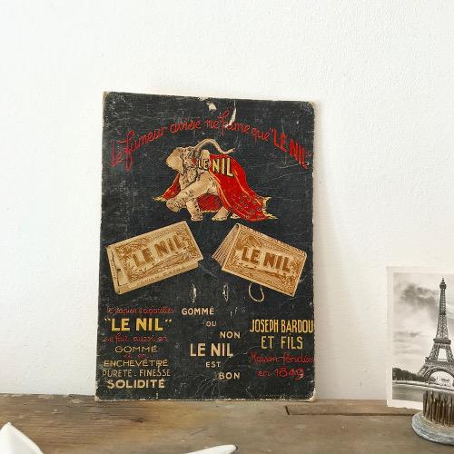 Carton publicitaire Le Nil