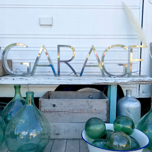 Lettre d'Enseigne Garage