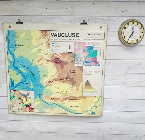 Carte scolaire Le Vaucluse