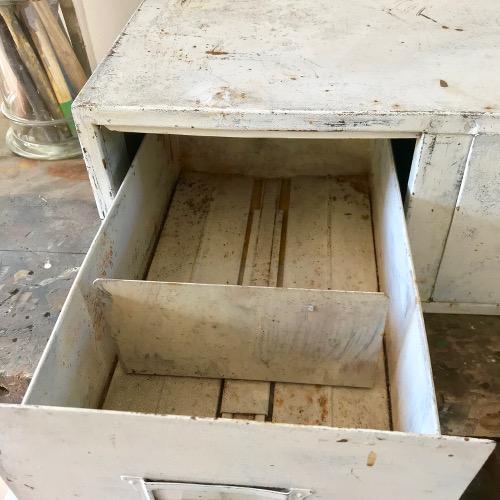 Meuble industriels à tiroirs