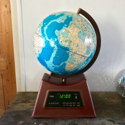 Globe terrestre Global Clock Union Elecs