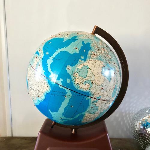 Globe terrestre Global Clock Union Elecs