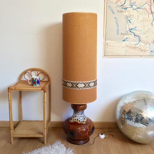 lampe de sol brocanteandco boutique en ligne de brocante. Black Bedroom Furniture Sets. Home Design Ideas