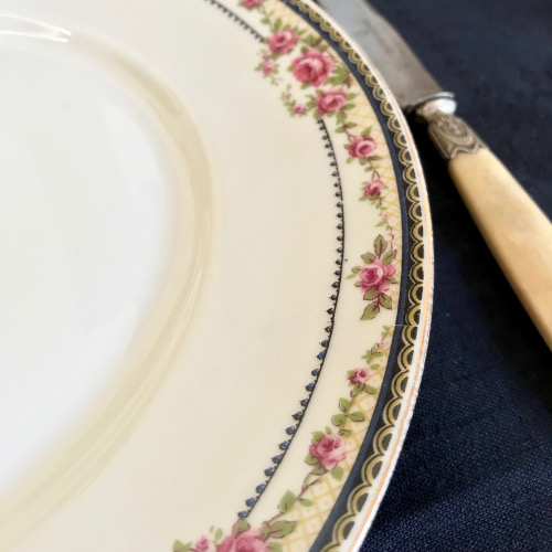 Assiettes porcelaine de Limoges