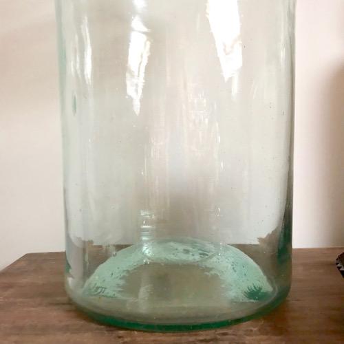 Pot à pharmacie vert aqua