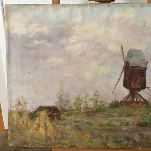 Tableau paysage Flamand