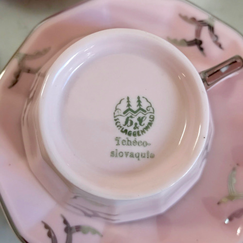 Service à café Art Déco Schlaggenwald