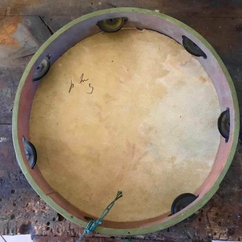 Tambourin peint