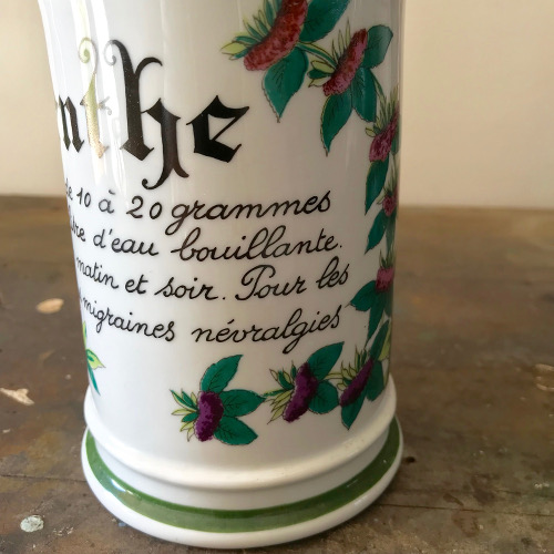 Pot à pharmacie Menthe