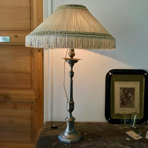 Lampe à franges