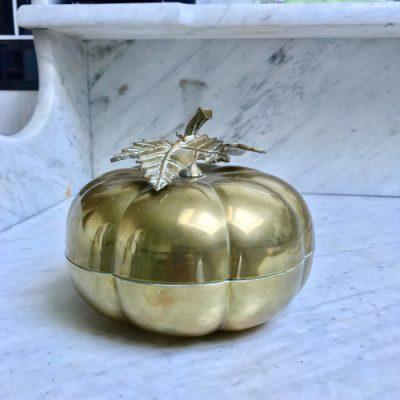 Boîte à bijoux en laiton