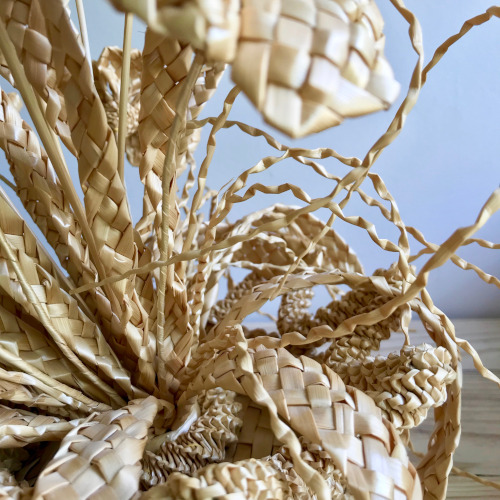 Bouquet de fleurs de paille