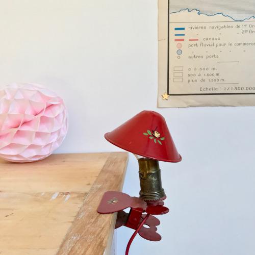 Lampe champignon balladeuse