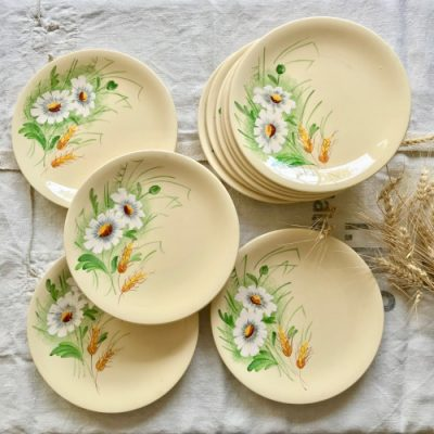 Assiettes Printemps Longchamp