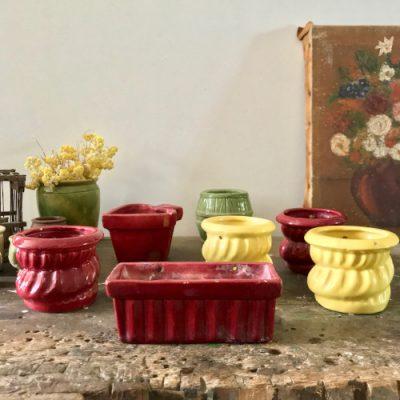 Pots en céramique pour plantes