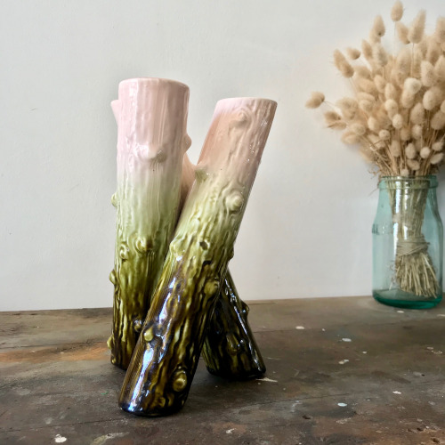 Vase triflore