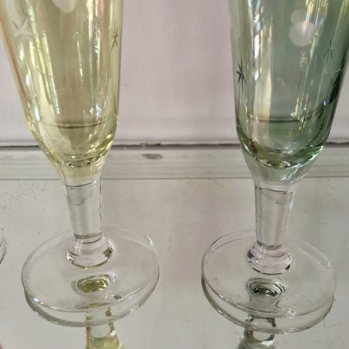Flûtes à champagne en cristal