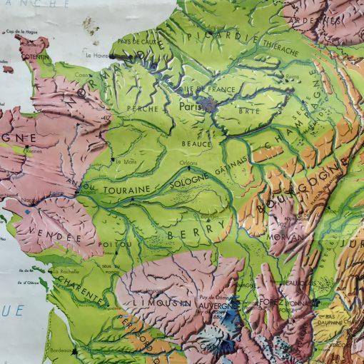 Carte scolaire M.D.I La France