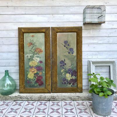 Tableaux bouquets de fleurs