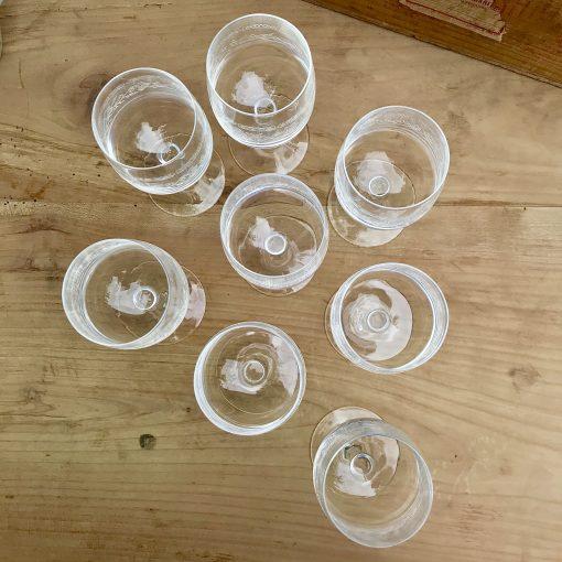 Verres Matignon Cristal d'Arques