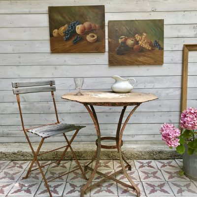 Table de jardin