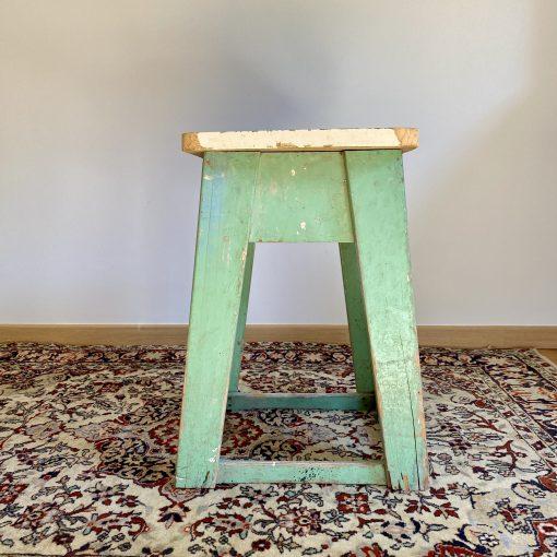 Tabouret d'atelier en bois