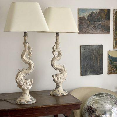 Lampes dauphin